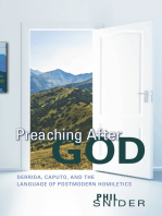 Preaching After God