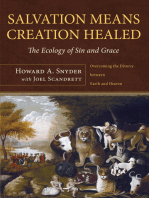 Salvation Means Creation Healed