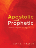 Apostolic and Prophetic