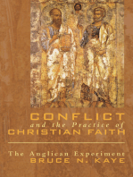Conflict and the Practice of Christian Faith