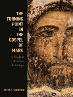 The Turning Point in the Gospel of Mark