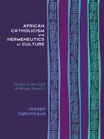 African Catholicism and Hermeneutics of Culture