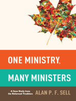 One Ministry, Many Ministers