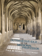 The Outrageous Idea of the Missional Professor