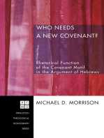 Who Needs a New Covenant?