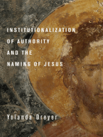 Institutionalization of Authority and the Naming of Jesus