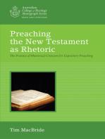 Preaching the New Testament as Rhetoric
