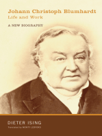 Johann Christoph Blumhardt, Life and Work