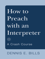 How to Preach with an Interpreter