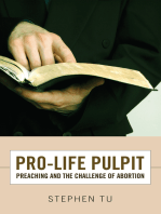 Pro-Life Pulpit
