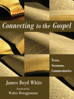 Connecting to the Gospel