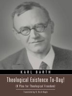 Theological Existence To-Day!