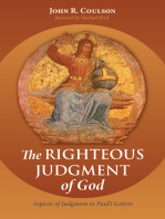The Righteous Judgment of God