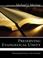 Preserving Evangelical Unity
