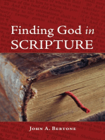 Finding God in Scripture