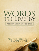 Words to Live By: A Reader's Guide to Key Bible Terms