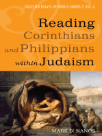 Reading Corinthians and Philippians within Judaism