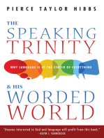 The Speaking Trinity and His Worded World