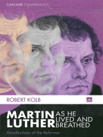 Martin Luther as He Lived and Breathed