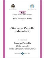 Giacomo Zanella Educatore