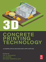 3D Concrete Printing Technology: Construction and Building Applications