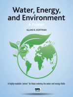 Water, Energy, and Environment A Primer