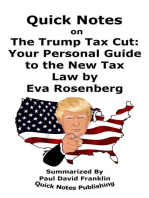 """Quick Notes on """"The Trump Tax Cut"""