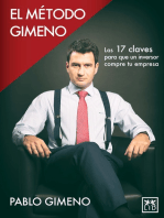 El método Gimeno: Las 17 claves para que un inversor compre tu empresa