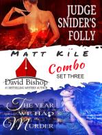 Matt Kile Combo Set Three. 2 novels and an excerpt