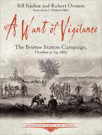A Want of Vigilance