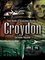 Foul Deeds & Suspicious Deaths in Croydon
