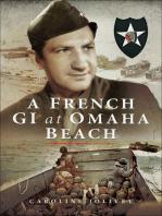 A French GI at Omaha Beach