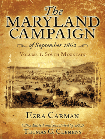The Maryland Campaign of September 1862, Volume I: South Mountain