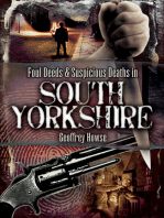Foul Deeds & Suspicious Deaths in South Yorkshire