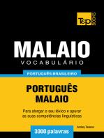 Vocabulário Português Brasileiro-Malaio: 3000 Palavras
