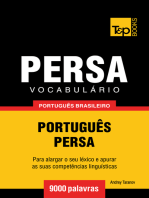 Vocabulário Português Brasileiro-Persa: 9000 Palavras