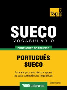 Vocabulário Português Brasileiro-Sueco: 7000 Palavras