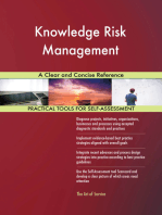 Knowledge Risk Management A Clear and Concise Reference