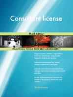 Consultant license Third Edition