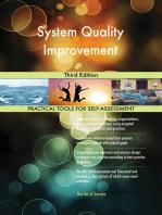 System Quality Improvement Third Edition