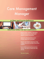 Care Management Manager A Clear and Concise Reference