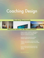 Coaching Design Standard Requirements