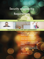 Security engineering Requirements Third Edition