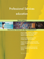 Professional Services education Third Edition