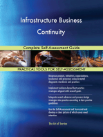 Infrastructure Business Continuity Complete Self-Assessment Guide