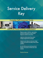 Service Delivery Key Complete Self-Assessment Guide