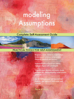 modeling Assumptions Complete Self-Assessment Guide