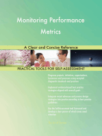 Monitoring Performance Metrics A Clear and Concise Reference