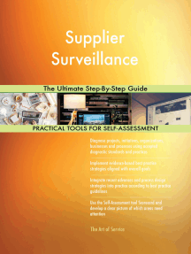 Supplier Surveillance The Ultimate Step-By-Step Guide