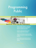 Programming Public Standard Requirements